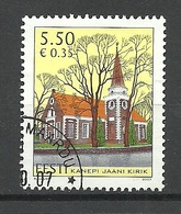 ESTLAND Estonia  2007 Kirche Church Kanepi O - Estland