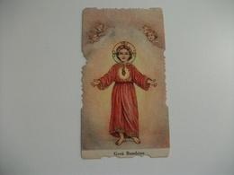 SANTINO HOLY PICTURE ' BAMBINO LAUDE - Religion & Esotérisme