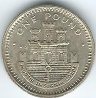 Gibraltar - Elizabeth II - 1 Pound - 1991 - KM18 - Gibraltar