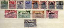 Allenstein, 1920, Mi 1-3; 5-14, Gestempelt [170219XXIII] - Deutschland