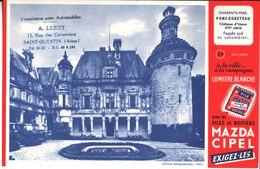 Plies Mazda Cipel. A La Ville A La Campagne  A. Leroy. Saint Quentin. Fournitures Automobiles. Pons Egreteau Usson - Piles