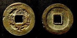 ANNAM  -   CHI DAO NGUYEN BAO _  RAREST -  COPIED FROM NORTH. SONG COIN - COPPER _ VIETNAM- - Viêt-Nam