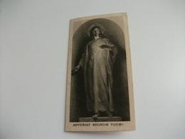 SANTINO HOLY PICTURE  REGNUM TUUM IMPRIMATUR 2 DICEMBRE 1929 - Religion & Esotérisme