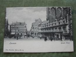 LEUVEN - GRAND' PLACE ( Scan Recto/verso ) - Leuven