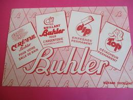Buvard /Crème D'entretien / BUHLER/Curémail, DIP , Top/ Brillant / /Mestivier / Vers 1940-1960    BUV330 - Waschen & Putzen