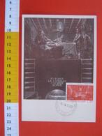 A.09 ITALIA ANNULLO - 1962 CASTELVACCHIO PASCOLI LUCCA MAXIMUM SCRITTORE GIOVANNI 1912 LAMPADA CHE ARDE SOAVE - Scrittori