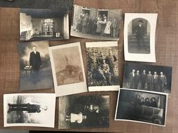 Lot De 33 Cartes Photos - Cartes Postales
