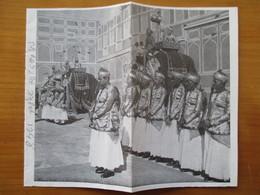 (1948) Palais De JAIPUR India  - MAHARADJAH   - Coupure De Presse Originale (Encart Photo) - Historische Dokumente