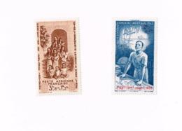 Protection De L'Enfance Indigène Et Quinzaine Impériale MNH,Neuf Sans Charnière,Falzlos.Yvert PA 8/9 - India (1892-1954)
