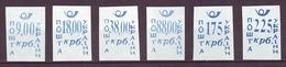 UKRAINE 1993. CHERKASSY. LOCAL PROVISORY STAMPS. Set Of 6 Values. Mint (**) - Ukraine