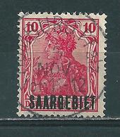 Saar MiNr. 33 Vollstempel HOMBURG PFALZ  (0454) - 1920-35 League Of Nations