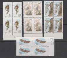 Norway 1970 European Nature 4v Bl Of 4** Mnh (41862A) - European Ideas