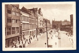 Pologne. Stalinogrod ( Katowice). Ulica Dworcowa. 1956 - Pologne