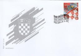 FDC CROATIA 1002 - Croatia