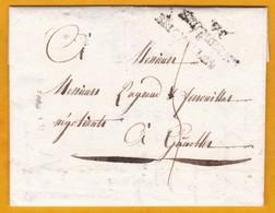 1812 - Marque Postale 78 BRIGNOLES, Var Sur LAC De Deux Pages De La Sous Préfecture Vers Grenoble, Isère - Postmark Collection (Covers)