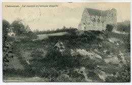 CPA - Carte Postale - Belgique - Chevremont - Le Couvent Et L'Antique Chapelle - 1920 (M7366) - Chaudfontaine