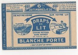 CARNET DE 20 TIMBRES N°6**SUPERBE - Algérie (1924-1962)