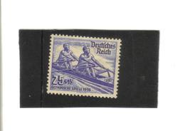 D.REICH, Michel 615 OLYMPISCHE SPIELE 1936 - Deutschland