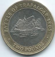 Gibraltar - Elizabeth II - 2007 - 2 Pounds - Trafalgar - KM1092 - Gibraltar