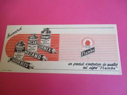 Buvard/Pâte D'entretien /FURNEX, MECANO, CORDON BLEU/ Flambo/Duval / ELBEUF/ Vers 1940-1960    BUV332 - Waschen & Putzen