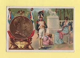 Chromo Chocolat Rationnel - XIXe Siecle - Napoleon - Chocolat
