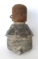 Fusée Anglaise Percutante N°106  1914 -1918 Ww1 Obus Anglais 18 Pounder - 1914-18