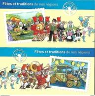 2011 Carnets C566-C578 Fêtes Et Traditions De Nos Régions - Adhesive Stamps