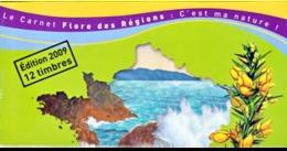 2009 Carnet C291 Flore De La Région Nord - Adhésifs (autocollants)