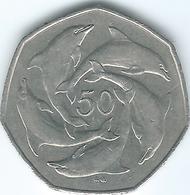 Gibraltar - Elizabeth II - 1997 AA - 50 Pence - KM39 - Gibraltar