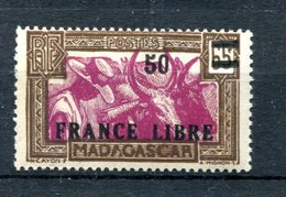 Madagascar - Surcharge France Libre Yvert 239 Neuf Xxx - T 794 - Madagascar (1889-1960)