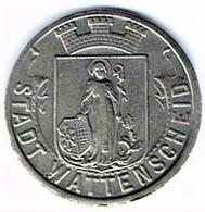 Allemagne - Nécessité - 50 Pf 1919 (fer) WATTENSCHEID - Monétaires/De Nécessité