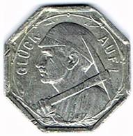 Allemagne - Nécessité - 25 Pf 1920 (zinc) WATTENSCHEID - Monétaires/De Nécessité