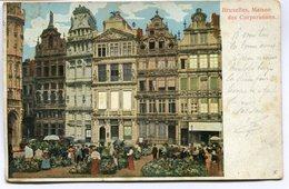 CPA - Carte Postale - Belgique - Bruxelles - Maisons Des Corporations  (M7369) - Monuments, édifices