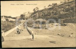 OLD POSTCARD PRAIA SAO TIAGO CABO VERDE CAP VERT AFRICA AFRIQUE POSTAL CARTE POSTALE - Cap Vert