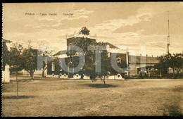 OLD POSTCARD QUARTEL PRAIA SAO TIAGO CABO VERDE CAP VERT AFRICA AFRIQUE POSTAL CARTE POSTALE - Cap Vert