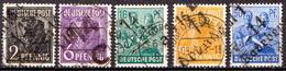Deutschland Alliierte Besetzung Mit Bezirkshandstempel Bezirk 14 Dresden 5 Gestempelt Marken - Zona Sovietica