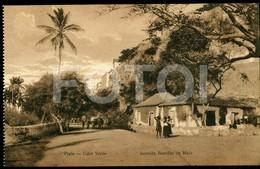 OLD POSTCARD AVENIDA PRAIA SAO TIAGO CABO VERDE CAP VERT AFRICA AFRIQUE POSTAL CARTE POSTALE - Cap Vert
