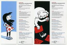 Lot De 2 Marque-page Avec Illustrations Par Riad Sattouf : Esther Et L'Arabe Du Futur - Marque-Pages