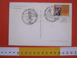 A.09 ITALIA ANNULLO - 1973 BOVES CUNEO MEDAGLIA ORO AL VALOR MILITARE RESISTENZA 1943 SECONDA GUERRA MONUMENTO - Seconda Guerra Mondiale