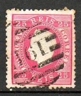 PORTUGAL    1870  (o)  Y&T N°40 A   P 12.5 - 1862-1884 : D.Luiz I