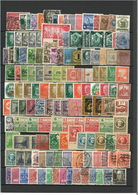 Deutschland Dublettenlot Meist Gestempelt - Briefmarken