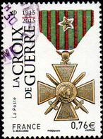 Oblitération Cachet à Date Sur Timbre De France N° 4942 - Croix De Guerre - France