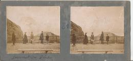 Superbe Photo Stéréoscopique - Mont Pilate - Pilatus - Animée - Photos Stéréoscopiques