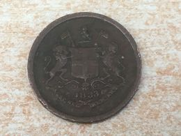 Rare 1833 British India Pie Coin - Inde