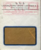 42785  Italia, Red Meter Freistempel Ema,1936 Venezia Mestre Stazione Lavorazione Leghe Leggere - Affrancature Meccaniche Rosse (EMA)