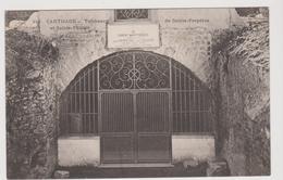 Tunisie: CPA: Carthage: Tombeaux De Ste Perpetue Et Felicite - Tunisie