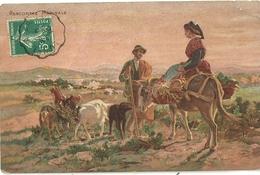 Rencontre Matinale Serie 923 Cachet Convoyeur Lunel A Arles - Agriculture