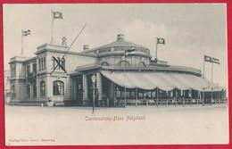 Ak Helgoland (Nordsee) 'Conversations-Haus' ~ 1922 - Helgoland