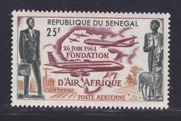"""SENEGAL AERIENS N°   36 ** MNH Neuf Sans Charnière, TB (8600) Fondation De La Compagnie """"Air Afrique"""" - 1962 - Senegal (1960-...)"""