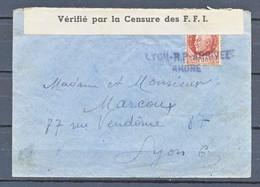 TIMBRE - FRANCE - Marcophilie - LETTRE - 191??? - Marcophilie (Lettres)